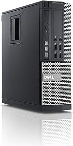 Dell 790 Desktop, Core i3-2100 3.1GHz, 4GB RAM, 250GB Hard Drive, DVD, Windows 10 Pro 64bit (Renewed)