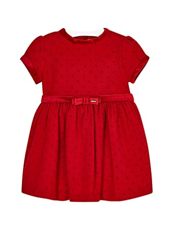 Mayoral Vestido Para Niña 4950 Rojo Amazones Ropa Y