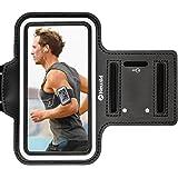 Newild Fascia Sportiva Immpermeabile da Braccio con Chiave e Supporto per Schede da 5,5 pollici, per iPhone 7 Plus / 6 Plus / 6S Plus e Huawei,Strisce Regolabili