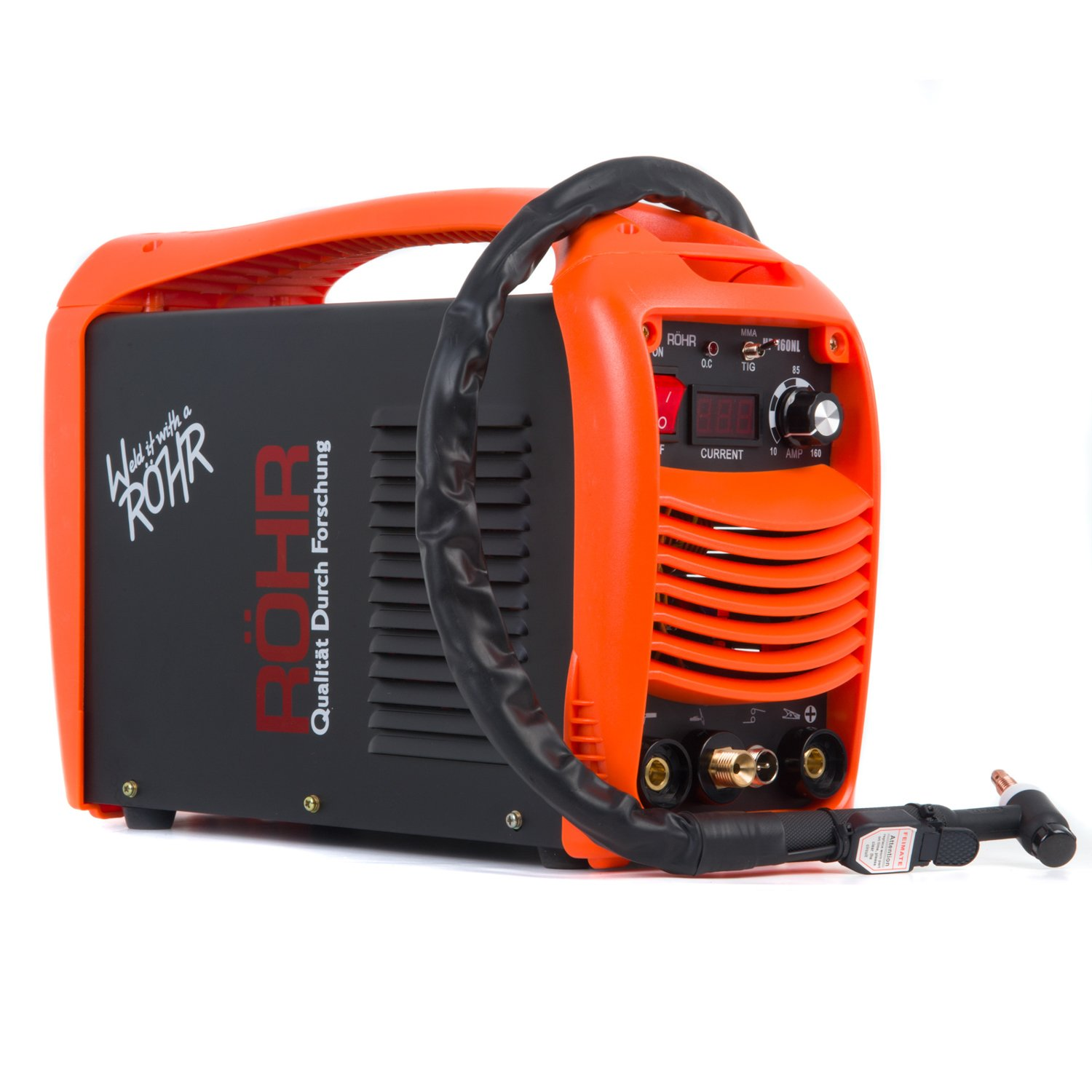 TIG ARC Welder Portable Inverter MMA MOSFET 240V / 160 amp DC - Röhr  HP-160L: Amazon.co.uk: DIY & Tools