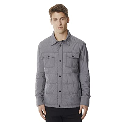 32 DEGREES Men's Packable Down Shirt Jacket at Amazon Men's Clothing store