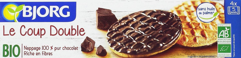 Bjorg Galletas Cubiertas de Chocolate - Paquete de 10 x 200 gr ...
