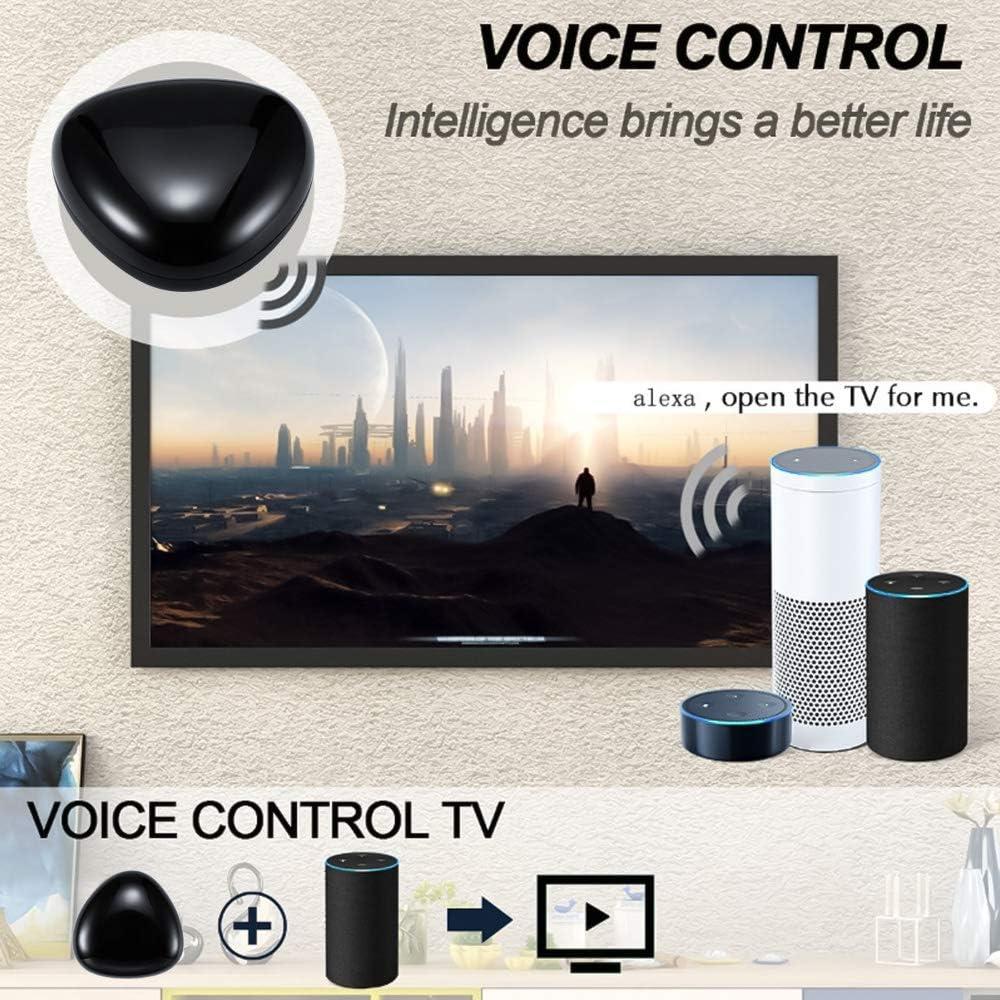 ALLOMN Inteligente Controlador Remoto IR, WIFI AI Control Remoto ...