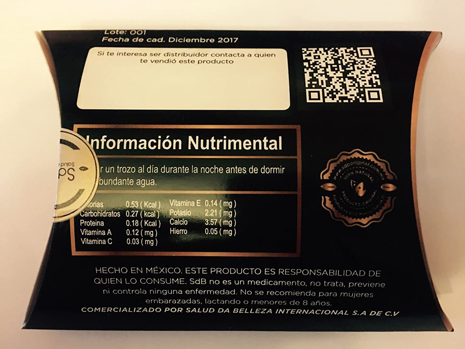 Amazon.com: SDB Semilla de Brazil 100% Original Brazil Seed Authentic: Home & Kitchen