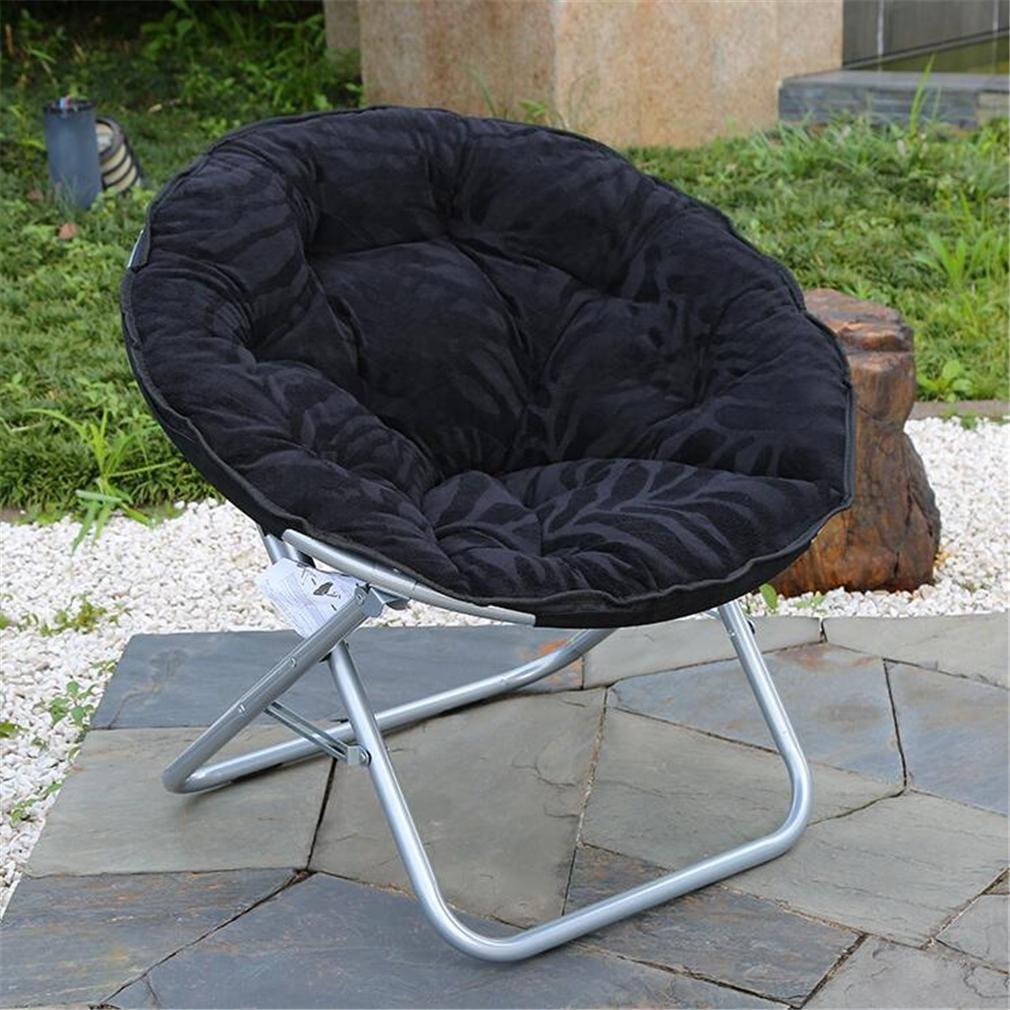 ZHDNG Mond Stuhl Indoor Outdoor Komfortable Komfortable Outdoor Klappstuhl 70ef3d