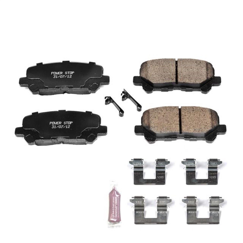 Z23 Evolution Sport Brake Pads Power Stop Z23-1281 Rear
