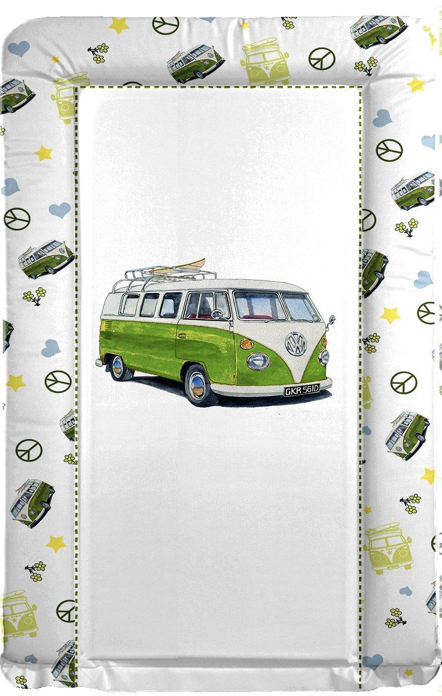 BABY CHANGING MAT VW CAMPER VAN GREEN babywise