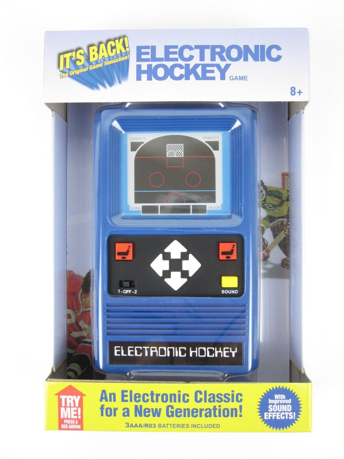 Big Game Toys~Electronic Handheld Hockey Game Retro 1978 Remake by Big Game Toys