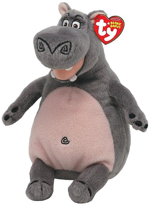 d15b8c07899 Amazon.com  TY Beanie Baby Madagascar - Gloria-Hippo  Toys   Games