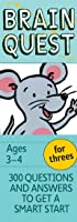 Brain Quest For Threes Revised 4th Edition: 300