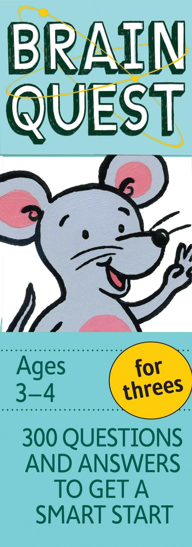 Brain Quest for Threes, revised 4th edition: 300 Questions and Answers to Get a Smart Start by Brainquest (Image #3)