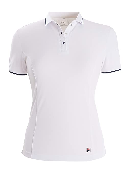 Fila Palina Tennis Polo da Donna: Amazon.it: Sport e tempo ...