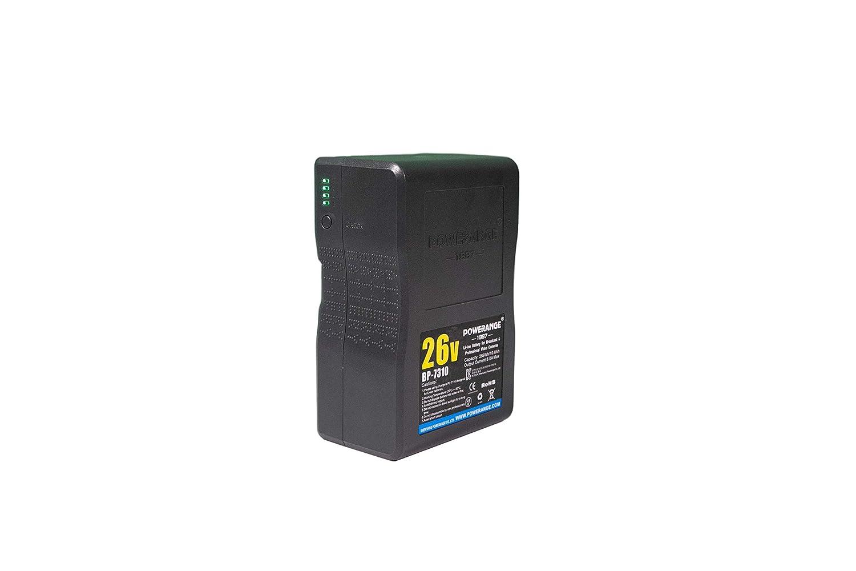 POWERANGE 26V シネマグレード ゴールドマウントバッテリー 265Wh   B07L6PXRQH