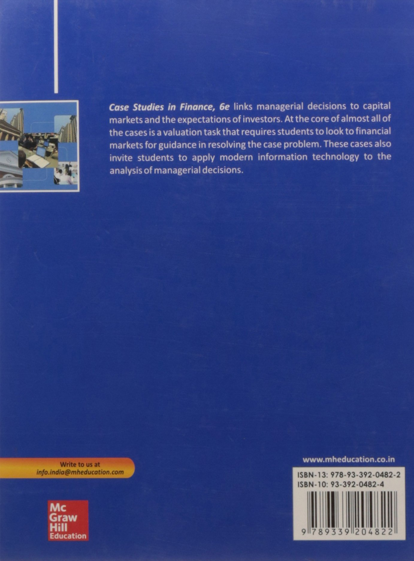 Buy Case Studies in Finance Book Online at Low Prices in