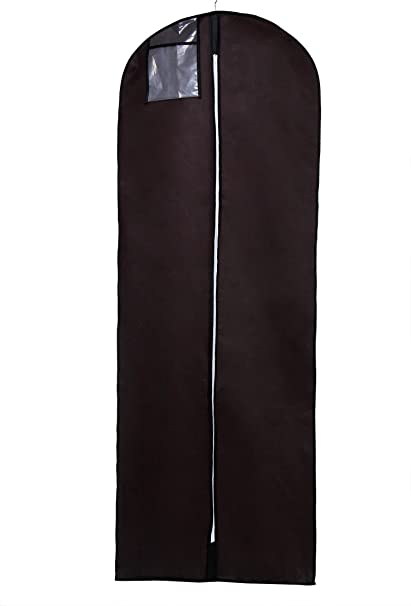 HIMRY® Transpirable Funda de ropa, 180 cm x 65 cm Bolsa de Ropa Protector