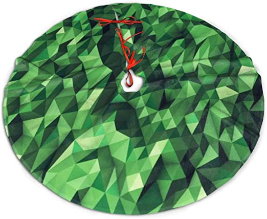 Holiday Skirts 2020 Christmas Amazon.com: Christmas Tree Skirt, Green Painting Rustic Or Stylish