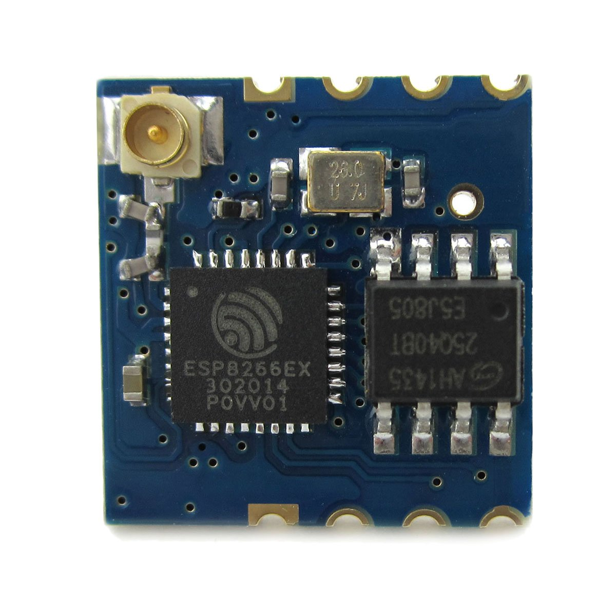Raspberry Pi ESP-02 ESP8266 Uart Serial to Wifi Wireless Module Use External Antenna for Arduino