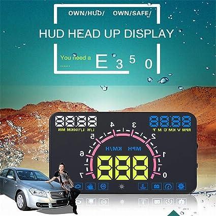 Amazon.es: Head Up Display Sistema de proyector de parabrisas con ...