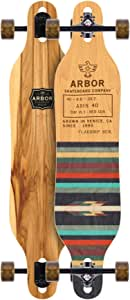 "Arbor Axis 40"" Cruiser Longboard Complete (All Graphics)"