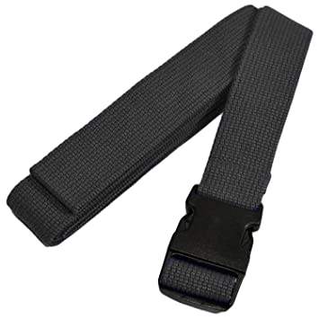 YogaAccessories 6 Pinch Buckle Cotton Yoga Strap