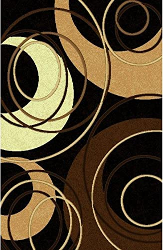 Rug Factory Plus L 777 Area Rug, 7.6 by 10.3-Feet, Black Bronze
