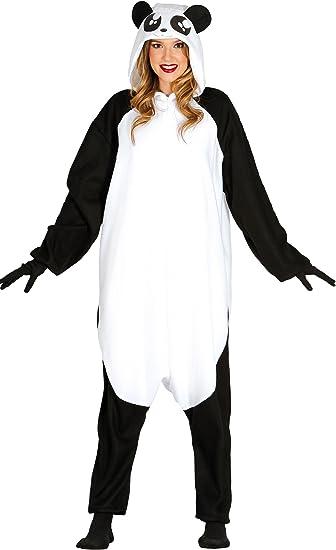 Guirca- Disfraz adulta pijama oso panda, Talla 38-40 (88091.0 ...