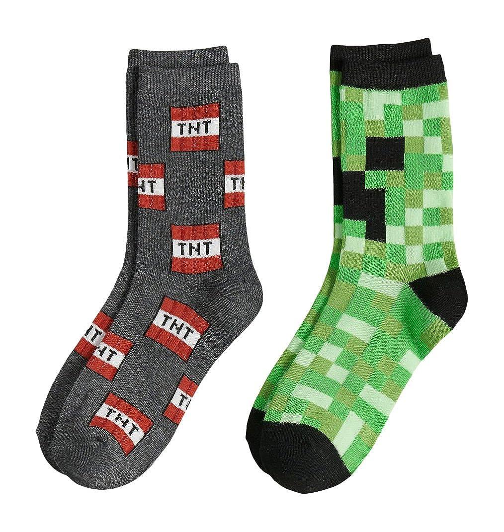 Minecraft Creeper Socks Gift Set Bundle