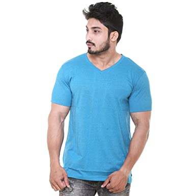 53eca77f EASY 2 WEAR Mens V Neck T-Shirts Plus Size (Sizes M to 4XL): Amazon ...