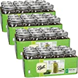 Ball Wide Mouth Quart (32 oz) Jars with Lids and Bands (4 Pack of 12)