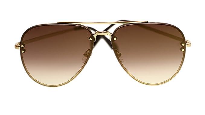51e7d404d25c Amazon.com  Celine Unisex Sunglasses Cl41392 J5G QH Gold Brown ...