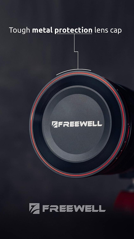 Freewell 82mm Parada Dura Variable ND Filtro D/ía Brillante 6 a 9 Paradas