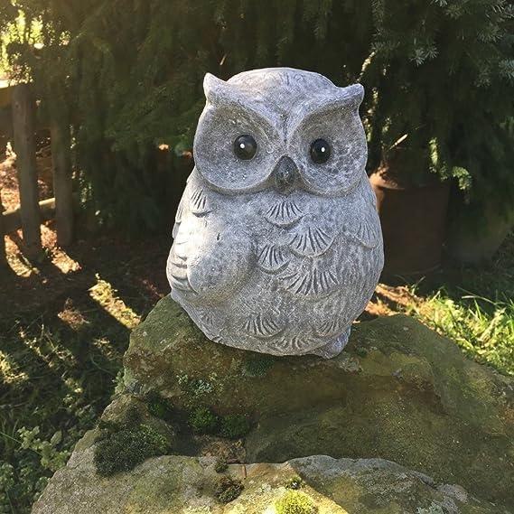 Antikas - búho de piedra decoración terraza patio - animales de ...