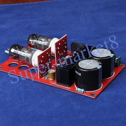 Amazon com: FidgetFidget Pre-amp Tube Amplifier Kit 6N2 SRPP for DIY
