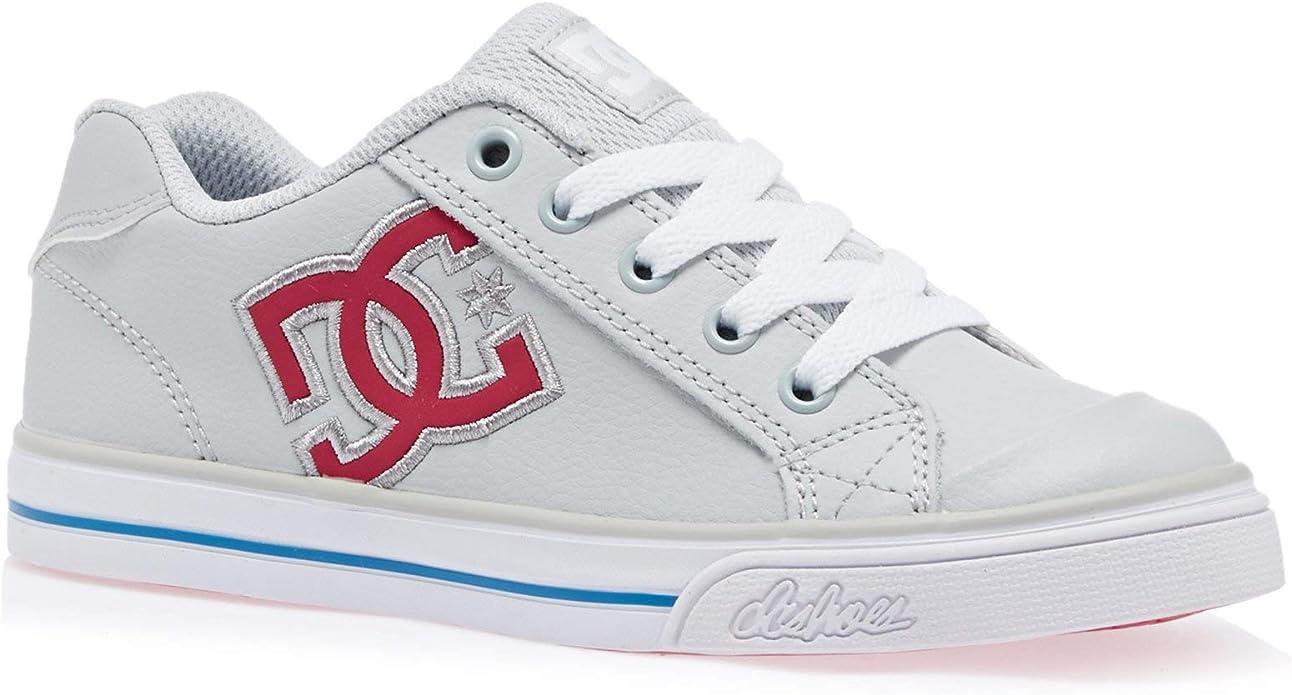DC Shoes Chelsea Sneakers Kinder Mädchen Grau/Rosa