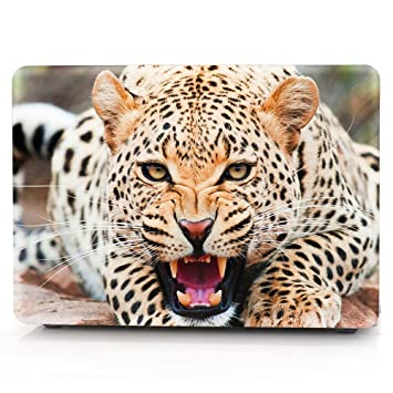 f240ca8c1d2 HRH Wild Leopard Design Laptop Body Shell Protective Hard Case for MacBook  New Pro 13 inch