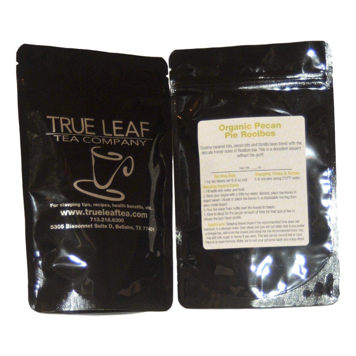 True Leaf Tea Organic Pecan Pie Rooibos Tea 4 OZ