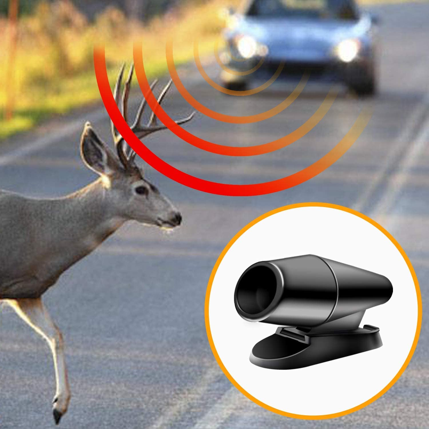 Warning Devices Deer Whistles Safety Accessories Automotive Deer Whistle for Car 10 Pack Deer Whistles for Car