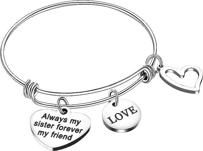 7686 Sister Decoration Handmade Gift Accessories Cute Bangle Bracelet