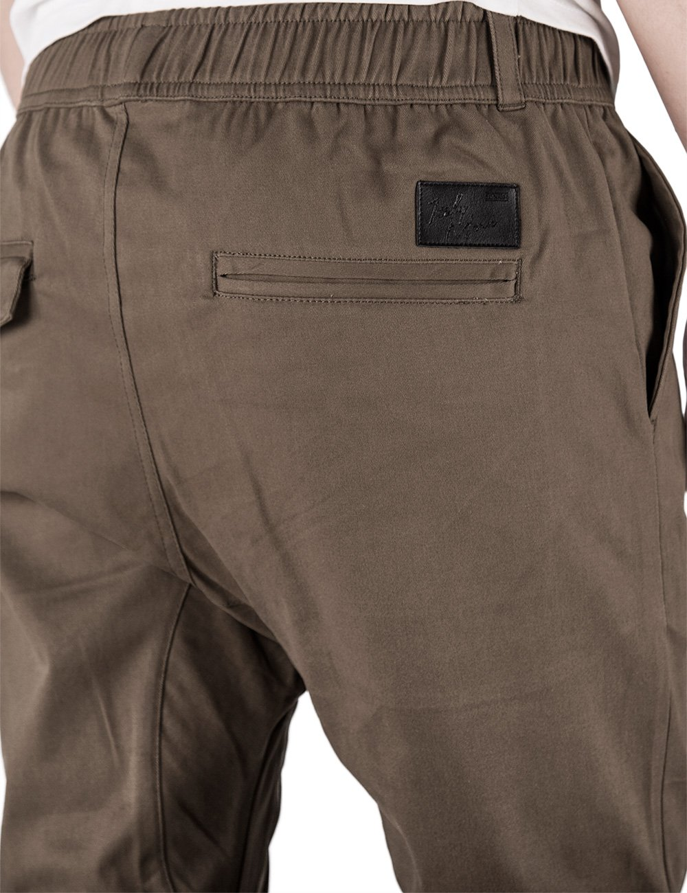 ITALY MORN Men's Chino Jogger Pants XL Coffee by ITALY MORN (Image #6)