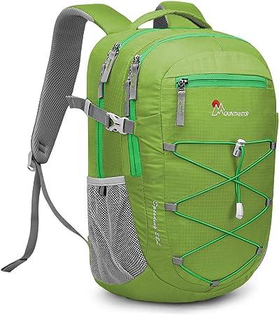 MOUNTAINTOP 22 Litri Zaino da Trekking Sportivo Outdoor Zaino per Uomo Donna Leggero Zaini da Escursionismo Viaggio Daypack