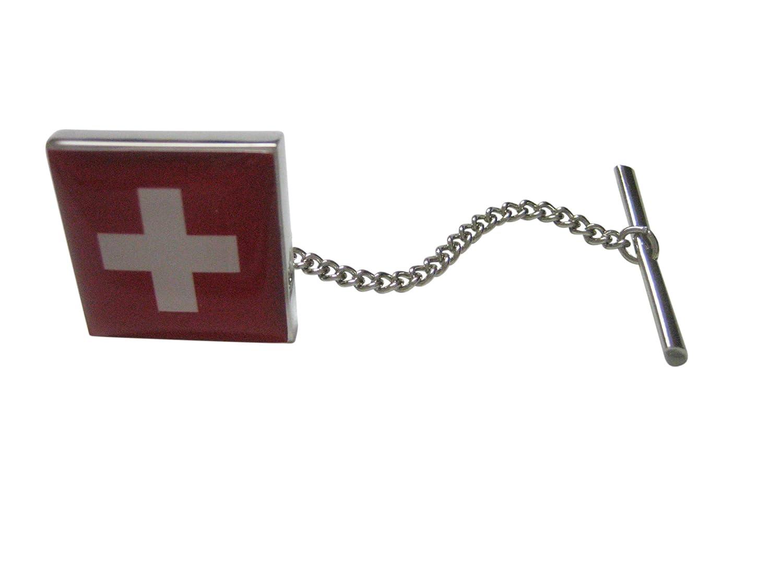 スイススイス国旗タイタック   B07BCYH6BH