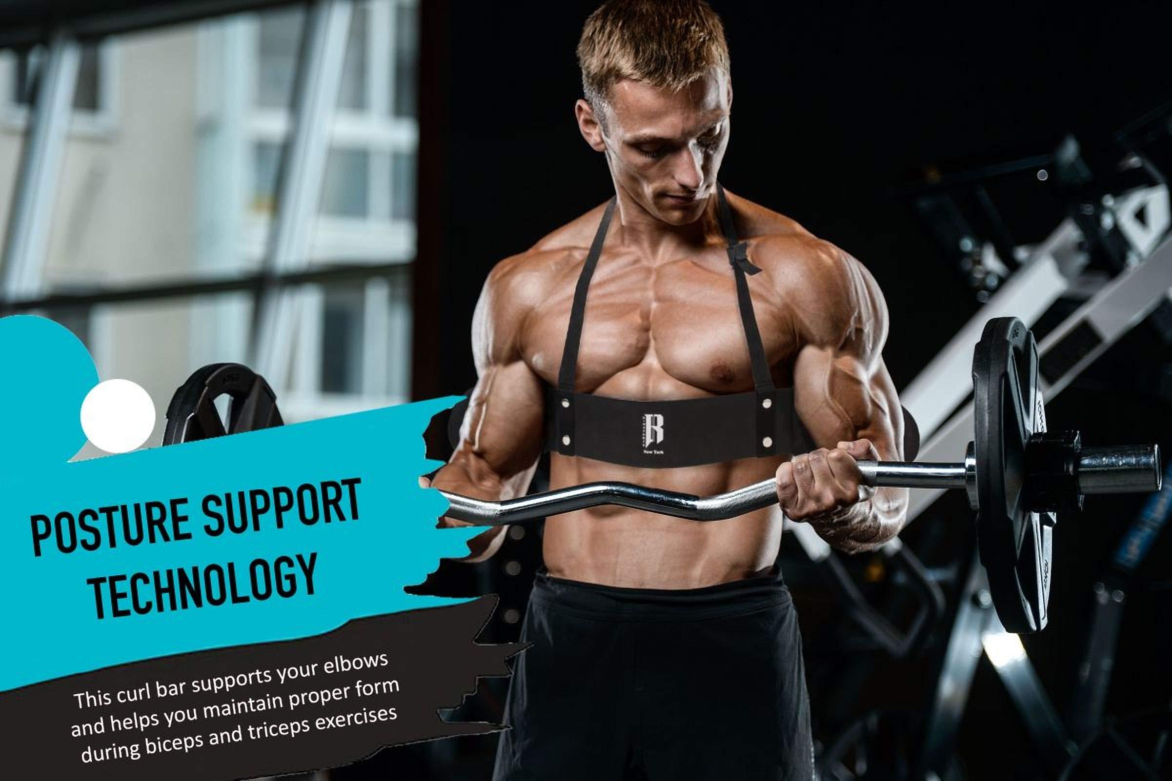 RIMSports Arm Blaster for Biceps Best Muscle Bicep Blaster for Bicep and Tricep Workout Ideal Biceps Isolator /& Heavy Duty Elite Muscle Arm Blaster for Bodybuilders /& Weightlifters