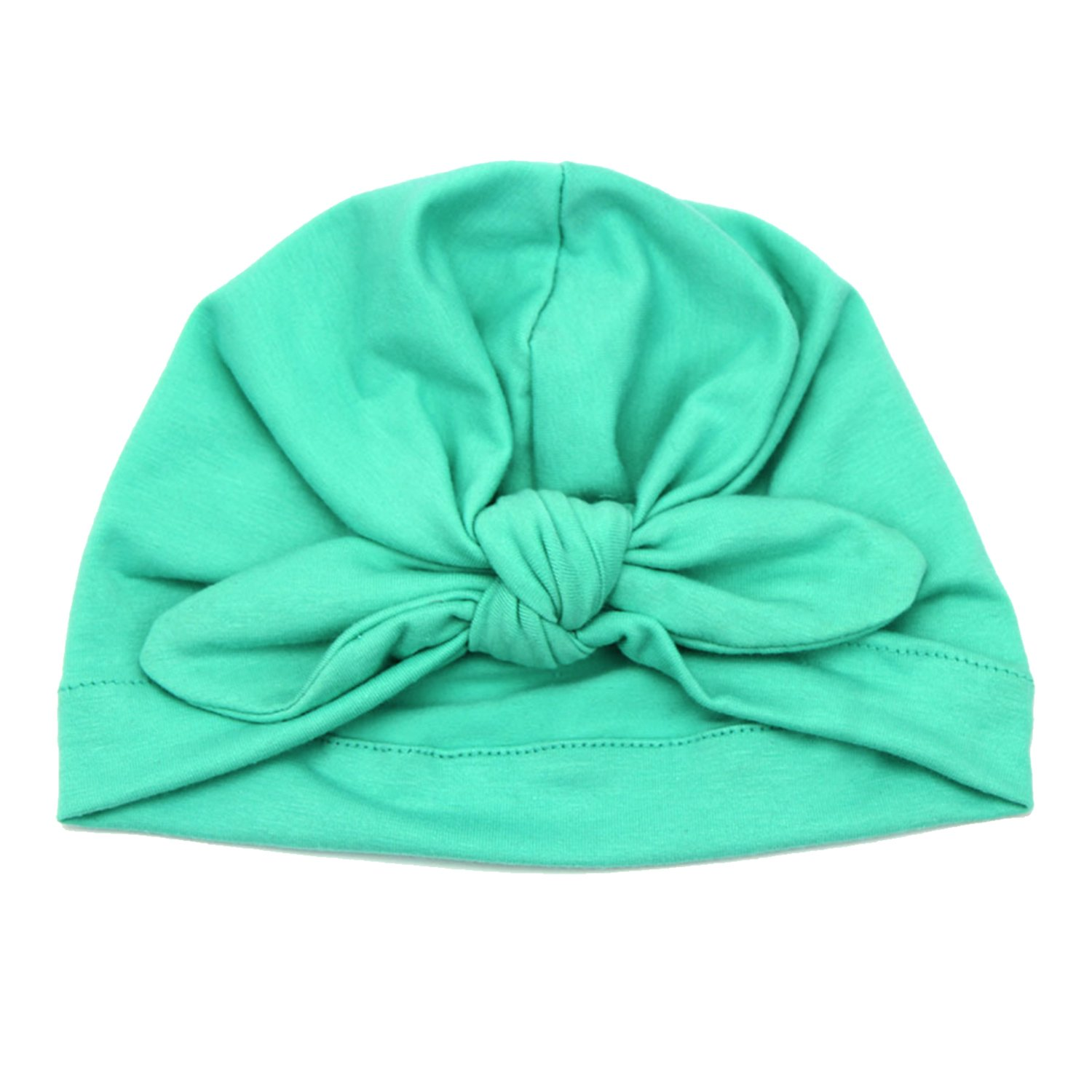 Elesa Miracle 6pc Sequnis Bow Turban Baby Hat Newborn Hospital Hat Baby Beanies Cap