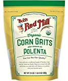 Bob's Red Mill Organic Corn Grits / Polenta (24 Ounce, Pack of 2)
