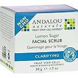 Andalou Naturals Clarifying Facial Scrub Lemon Sugar, 1.7 Ounce