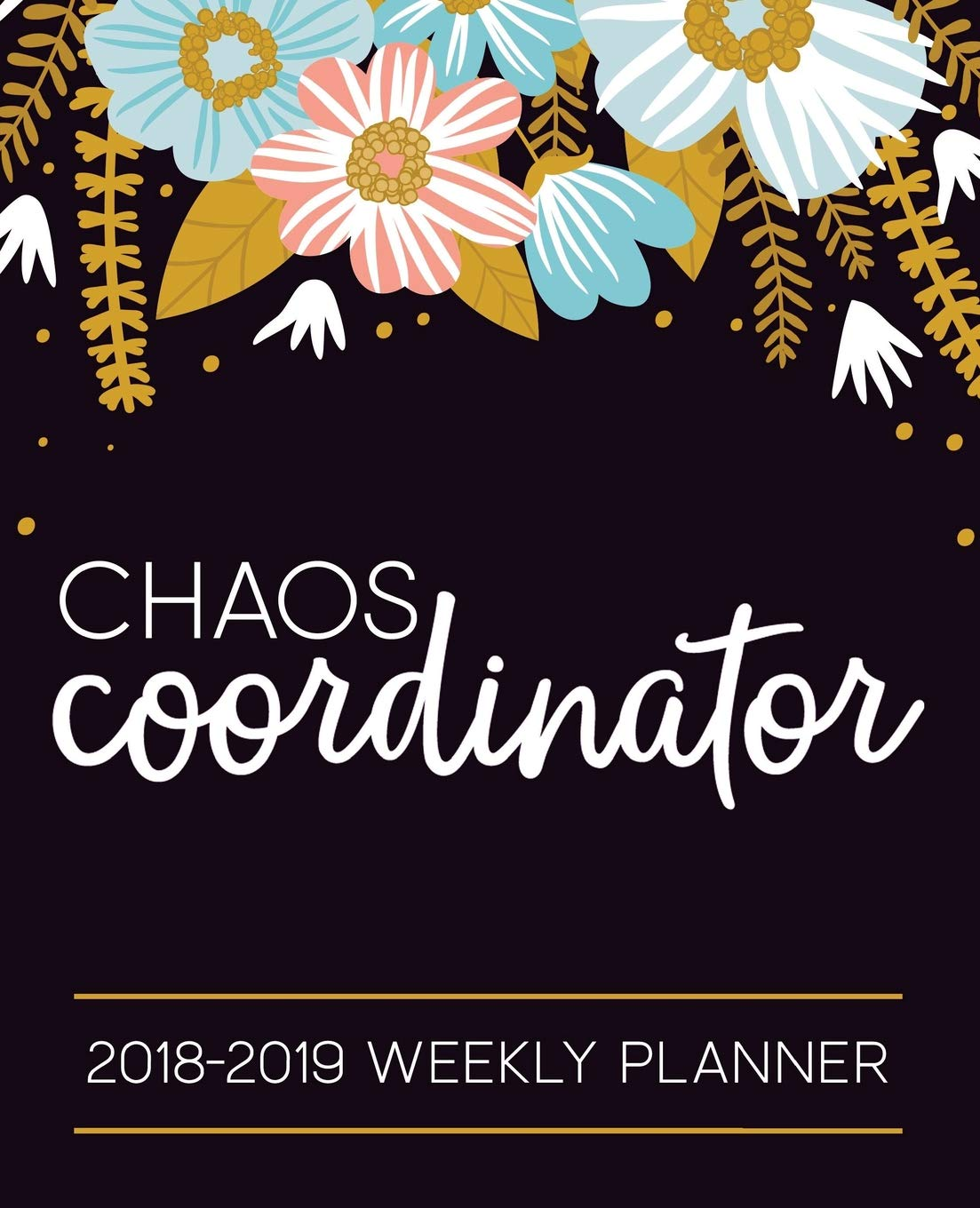 Amazon.com: Chaos Coordinator: 2018-2019 Weekly Planner ...