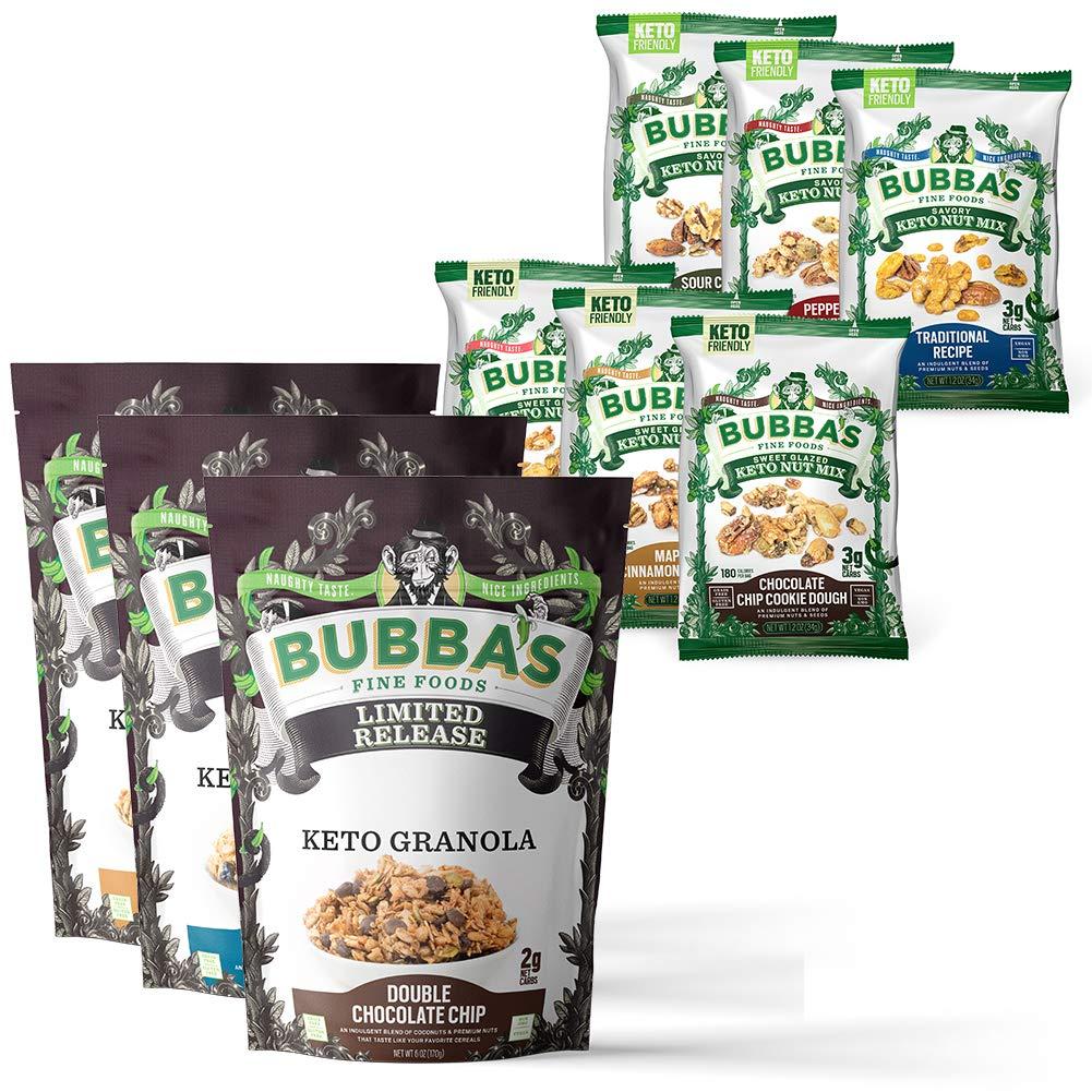 Complete Keto Bundle | Granolas & Snacks