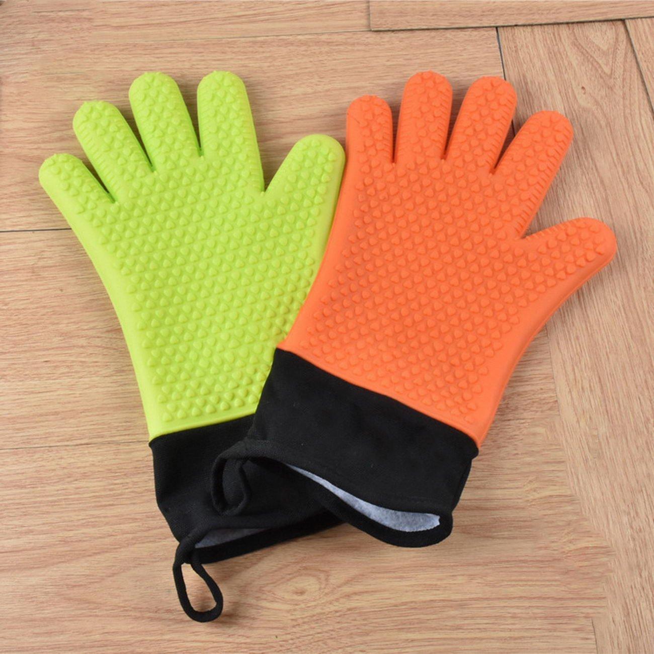heart household roast household microwave oven silica gel gloves microwave oven gloves, microwave oven gloves, insulated gloves, microwave oven gloves insulated gloves, silicone gloves, gloves slip