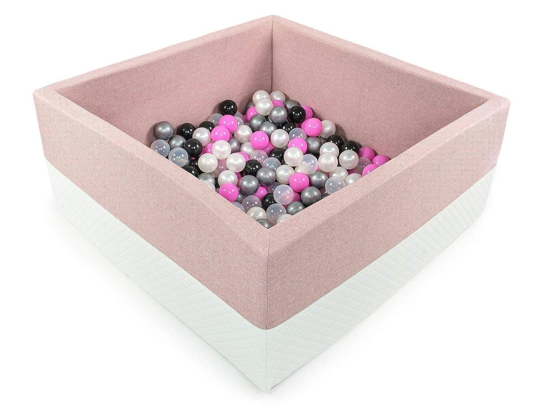 BKWE2 Tweepsy B/éb/é Piscine A Balles pour Enfants Bambin 250 Balles 90x90X40cm Fabriqu/é en EU