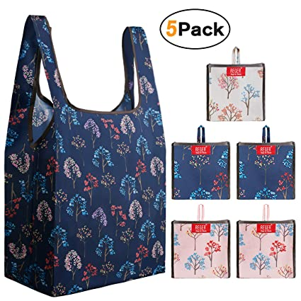 acdbe43a80d0 REGER Grocery Shopping Bags Ripstop Reusable Bags Folding into Pocket  Larger 50LBS Grocery Totes Bags Eco Friendly Fabric Shopping Bags Bulk  Larger ...